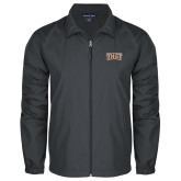 Full Zip Charcoal Wind Jacket-TXST Texas State