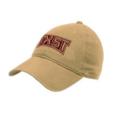 Vegas Gold Twill Unstructured Low Profile Hat-TXST Texas State