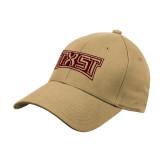Vegas Gold Heavyweight Twill Pro Style Hat-TXST Texas State