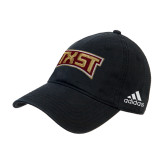 Adidas Black Slouch Unstructured Low Profile Hat-TXST Texas State