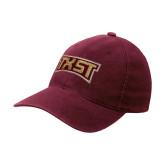 Maroon Flexfit Mid Profile Hat-TXST Texas State