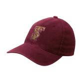 Maroon Flexfit Mid Profile Hat-Baseball TS