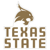 Extra Large Magnet-Texas State Logo Stacked, 18 inches tall