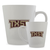 Full Color Latte Mug 12oz-TXST Texas State