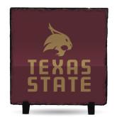 Photo Slate-Texas State Logo Stacked