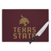 Cutting Board-Texas State Logo Stacked