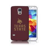 Galaxy S5 Phone Case-Texas State Logo Stacked
