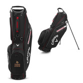 Callaway Hyper Lite 3 Black Stand Bag-Texas State Logo Stacked
