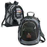 High Sierra Black Titan Day Pack-Texas State Logo Stacked