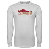 White Long Sleeve T Shirt-The Old Pueblo