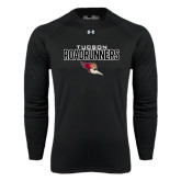 Under Armour Black Long Sleeve Tech Tee-Tucson Roadrunners Stacked