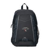 Impulse Black Backpack-Tucson Roadrunners Stacked