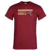 Cardinal T Shirt-Roadrunners Hockey Stacked