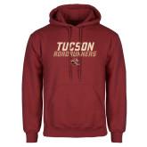 Cardinal Fleece Hoodie-Tuscon Roadrunners - Lines