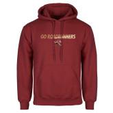 Cardinal Fleece Hoodie-Go Roadrunners