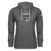Adidas Climawarm Charcoal Team Issue Hoodie-Tucson Roadrunners Stacked