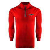 Under Armour Cardinal Tech 1/4 Zip Performance Shirt-Tucson Roadrunners Stacked