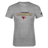 Adidas Sport Grey Logo T Shirt-Tucson Roadrunners Stacked