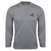 Performance Steel Longsleeve Shirt-Official Logo