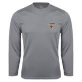 Performance Steel Longsleeve Shirt-Tucson Roadrunners Stacked