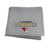 Grey Sweatshirt Blanket-Tucson Roadrunners Stacked