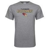 Grey T Shirt-Tucson Roadrunners Stacked