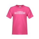 Youth Fuchsia T Shirt-Tucson Roadrunners