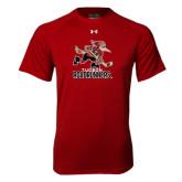 Under Armour Cardinal Tech Tee-Official Logo