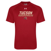 Under Armour Cardinal Tech Tee-Tuscon Roadrunners - Lines