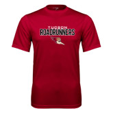 Performance Cardinal Tee-Tucson Roadrunners Stacked