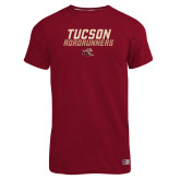 Russell Cardinal Essential T Shirt-Tuscon Roadrunners - Lines