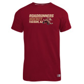 Russell Cardinal Essential T Shirt-Roadrunners Hockey Stacked