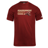Russell Core Performance Cardinal Tee-Roadrunners Hockey Stacked