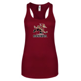 Next Level Ladies Cardinal Ideal Racerback Tank-Official Logo