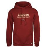 Russell DriPower Cardinal Fleece Hoodie-Tuscon Roadrunners - Lines
