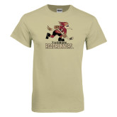 Khaki Gold T Shirt-Official Logo