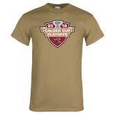 Khaki Gold T Shirt-Calder Cup Playoffs