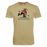 Next Level SoftStyle Khaki T Shirt-Official Logo