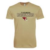 Next Level SoftStyle Khaki T Shirt-Tucson Roadrunners Stacked
