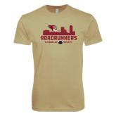 Next Level SoftStyle Khaki T Shirt-Roadrunners City Design