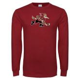 Cardinal Long Sleeve T Shirt-Mascot