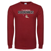 Cardinal Long Sleeve T Shirt-Tucson Roadrunners Stacked