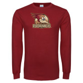 Cardinal Long Sleeve T Shirt-Badge Design