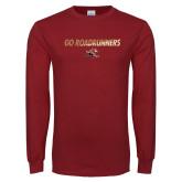 Cardinal Long Sleeve T Shirt-Go Roadrunners