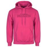 Fuchsia Fleece Hoodie-Tucson Roadrunners Hot Pink Glitter