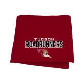 Cardinal Sweatshirt Blanket-Tucson Roadrunners Stacked