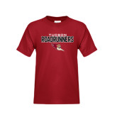 Youth Cardinal T Shirt-Tucson Roadrunners Stacked