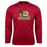 Performance Cardinal Longsleeve Shirt-Badge Design