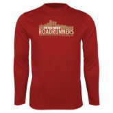 Performance Cardinal Longsleeve Shirt-The Old Pueblo