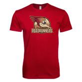 Next Level SoftStyle Cardinal T Shirt-Badge Design